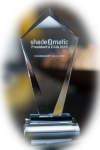 Shade O Matic Award